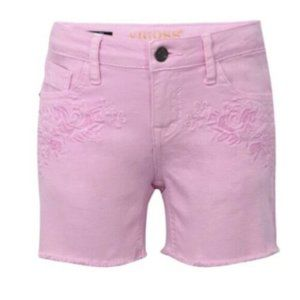 Girls Super Stretch Denim The Malibu Mid Shorts